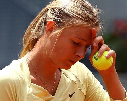 6899 - Ailing Maria Sharapova out of Paris