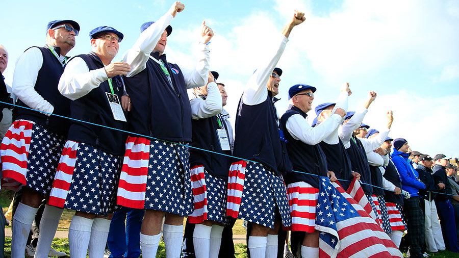 Ryder Cup Fans Ryder Cup Fans Flock to Dawn