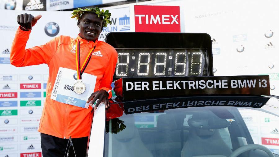 Dennis Kimetto wins 41st Berlin Marathon and sets new world record ...