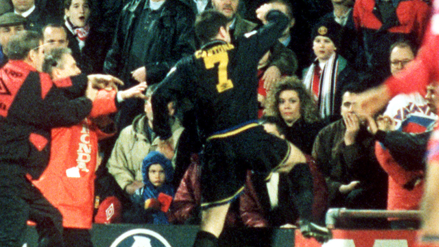 Rewind to 1995: When Manchester United's Eric Cantona went ...