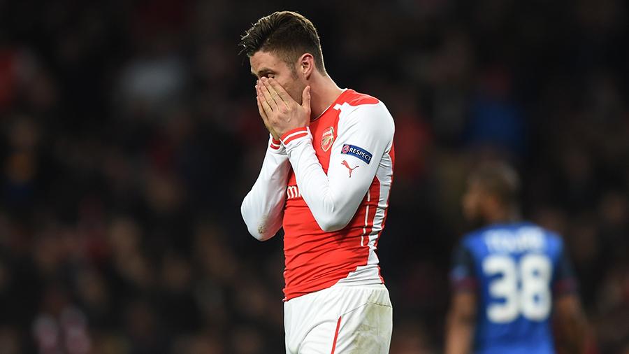 Giroud gets emotional