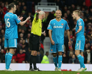 Ref Denies Mistaken Identity In United Red Card Controversy