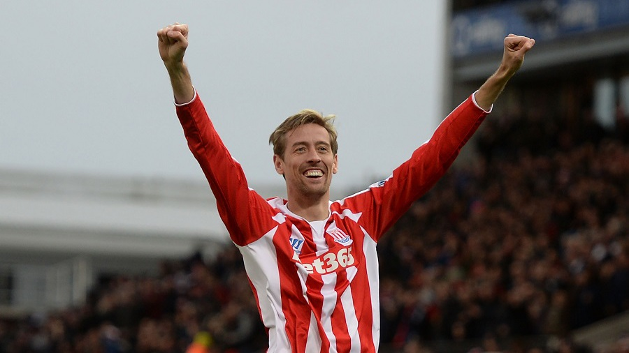 Peter Crouch head and shoulders above all but Shearer