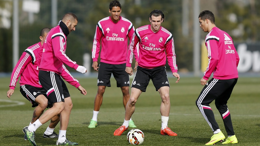 Ronaldo and co. fear nutmegs at Real Madrid, says Bale